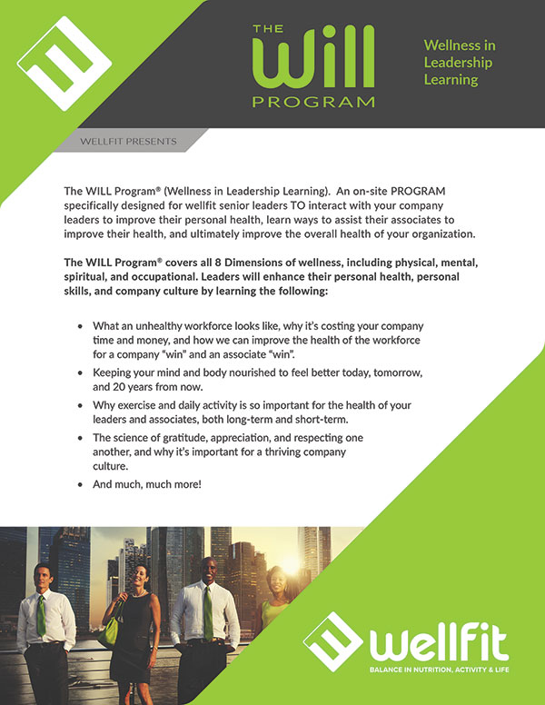 Brochure Design - WellFit Corporation