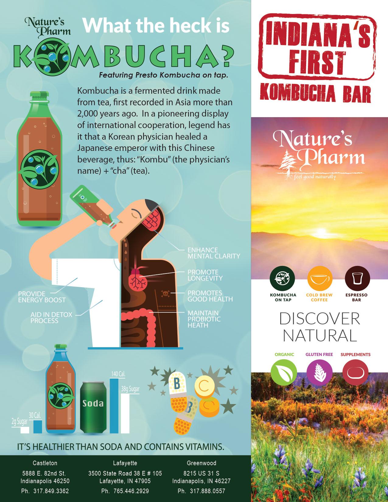 Brochure Design - Natures Pharm