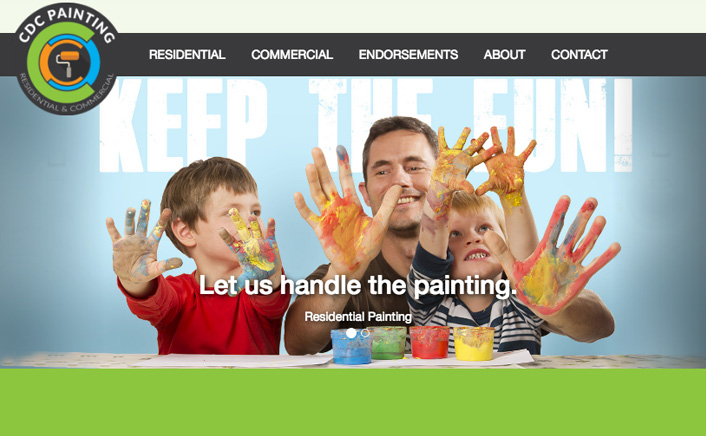 Jacob Cane Co Responsive Design + CDC Painting