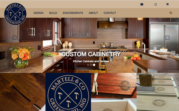 Jacob Cane Co Website Design + Martell & Co