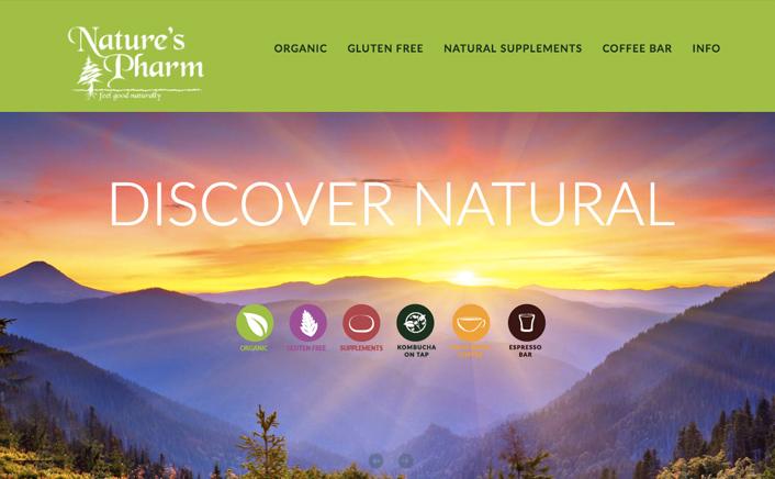 Jacob Cane Co Graphic Design + Nature's Pharm
