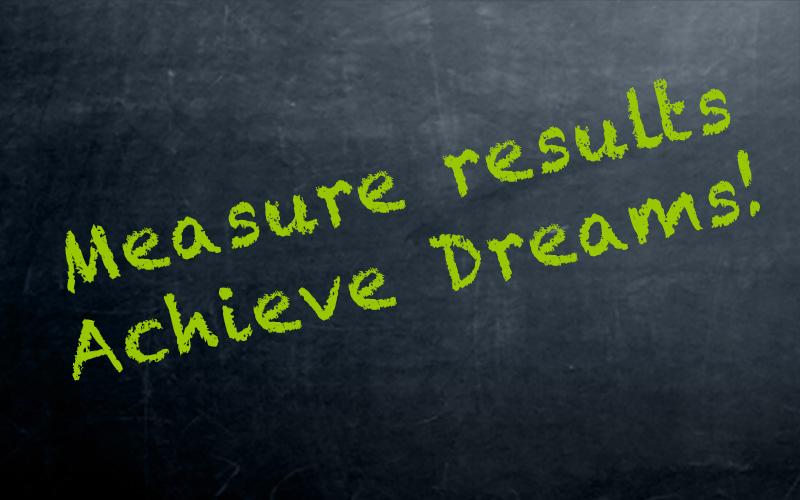 Measure Results, Achieve Dreams